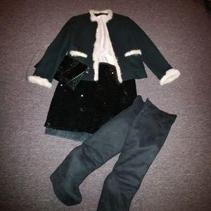 Worthington bling skirt